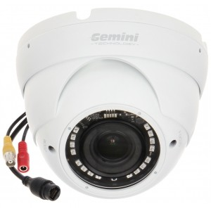 KAMERA WANDALOODPORNA IP GT-CI22V3-28VFW - 1080p 2.8 ... 12 mm GEMINI TECHNOLOGY